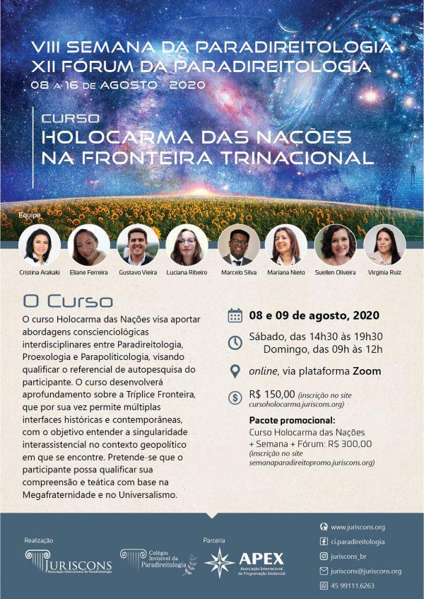 Cartaz - Curso Holocarma das Nações